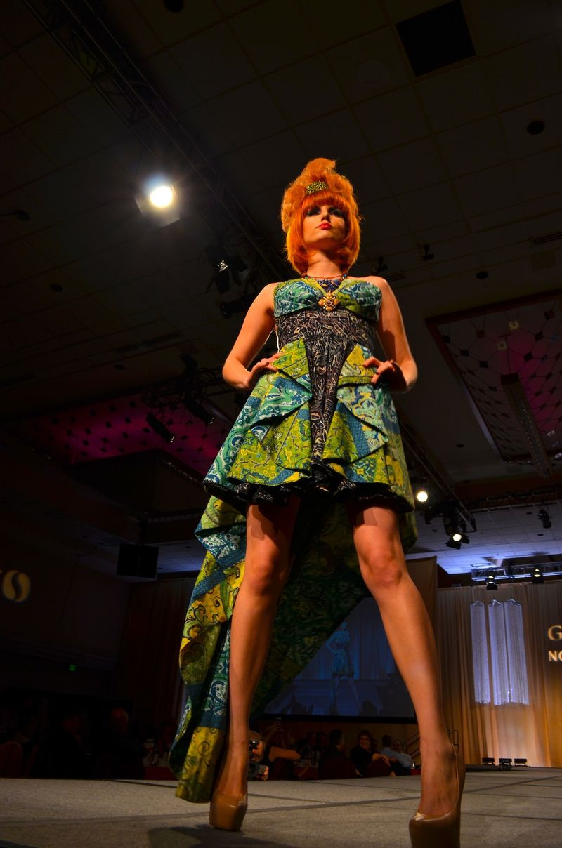 Seattle Goodwill Glitter Gala Fashion Show Art Institute Student Designers